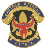 U.S. ARMY 34TH INFANTRY DIVISION UNIT CREST