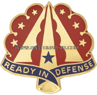 U.S. Army 35th Air Defense Artillery Brigade Unit Crest