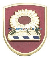 ARMY 35TH DIVISION ARTILLERY UNIT CREST