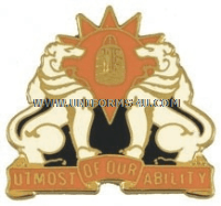 U.S. ARMY 35TH SIGNAL BRIGADE UNIT CREST