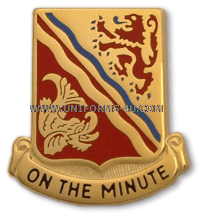 ARMY 37TH FIELD ARTILLERY REGIMENT UNIT CREST