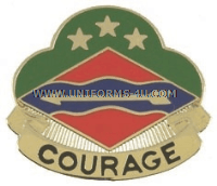 ARMY 39TH INFANTRY BRIGADE UNIT CREST