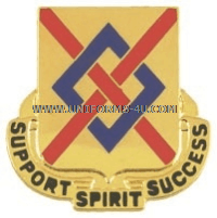 ARMY 39TH SUPPORT BATTALION UNIT CREST