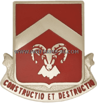 ARMY 40TH ENGINEER BATTALION UNIT CREST