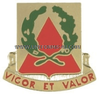 army 41st engineer battalion unit crest