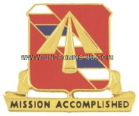 ARMY 41ST FIELD ARTILLERY REGIMENT UNIT CREST