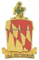 army 42nd field artillery brigade unit crest
