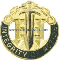 ARMY 42ND MILITARY POLICE BRIGADE UNIT CREST