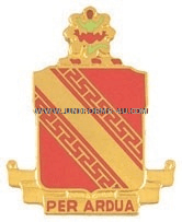ARMY 44TH AIR DEFENSE ARTILLERY REGIMENT UNIT CREST