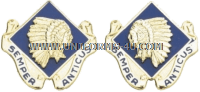 army 45th infantry brigade left hand unit crest