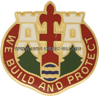 ARMY 46TH ENGINEER GROUP MICHIGAN NG UNIT CREST