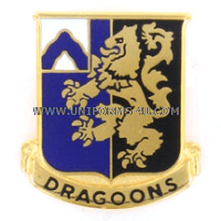 ARMY 48TH INFANTRY REGIMENT UNIT CREST