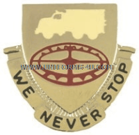ARMY 49TH TRANSPORTATION CENTER UNIT CREST