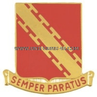 ARMY 52 AIR DEFENSE ARTILLERY REGIMENT UNIT CREST