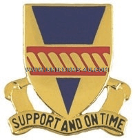 ARMY 53RD SUPPORT BATTALION UNIT CREST