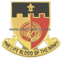 army 64 support battalion unit crest