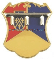 ARMY 66 ARMOR REGIMENT UNIT CREST