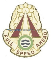 ARMY 71 TRANSPORTATION BATTALION UNIT CREST