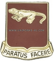 ARMY 75 FIELD ARTILLERY REGIMENT UNIT CREST