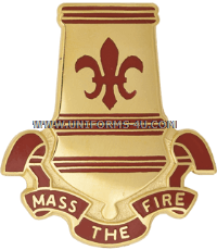 ARMY 82 AIRBORNE DIVISION ARTILLERY UNIT CREST