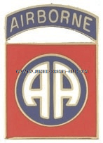 army 82 airborne division (obs) unit crest