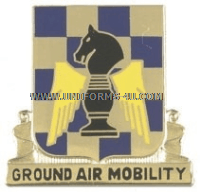 army 82 aviation battalion unit crest