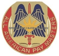 ARMY 82 FINANCE BATTALION UNIT CREST