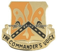 army 82 signal battalion unit crest