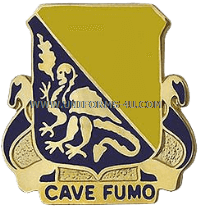 ARMY 84 CHEMICAL BATTALION UNIT CREST