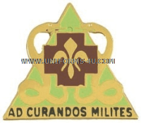 ARMY 85 MEDICAL BATTALION UNIT CREST