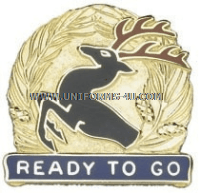 U.S. ARMY 86TH INFANTRY BRIGADE COMBAT TEAM UNIT CREST