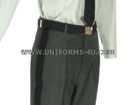 us army class a green officer trousers