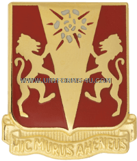 ARMY 86 FIELD ARTILLERY REGIMENT UNIT CREST