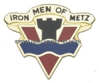 army 95 infantry division unit crest