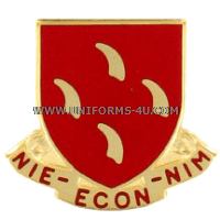 army 95 regiment civilian support team unit crest