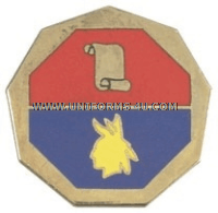 ARMY 98 INFANTRY DIVISION UNIT CREST (TRAINING)