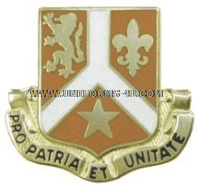 army 101 signal battalion unit crest