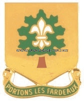 ARMY 101 SUPPORT BATTALION UNIT CREST