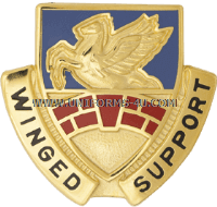 U.S. ARMY 104TH AVIATION REGIMENT UNIT CREST