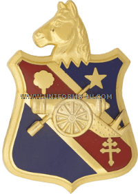 ARMY 104 FIELD ARTILLERY REGIMENT ARNG NEW YORK UNIT CREST