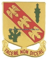 army 107 armored cavalry regiment unit crest