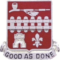 ARMY 107 ENGINEER BN UNIT CREST