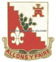 ARMY 109 ENGINEER BATTALION UNIT CREST