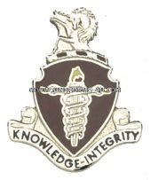 ARMY VETERINARY COMMAND UNIT CREST
