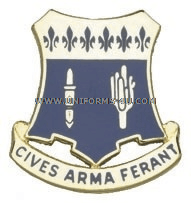 army 109 infantry regiment unit crest