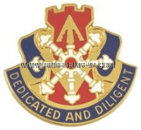 ARMY 111 ENGINEER BATTALION UNIT CREST
