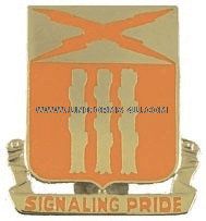 ARMY 111 SIGNAL BATTALION UNIT CREST