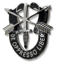 special forces unit crest