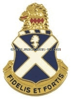 U.S. ARMY 113TH INFANTRY REGIMENT UNIT CREST