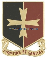 ARMY 113 SUPPORT BATTALION UNIT CREST